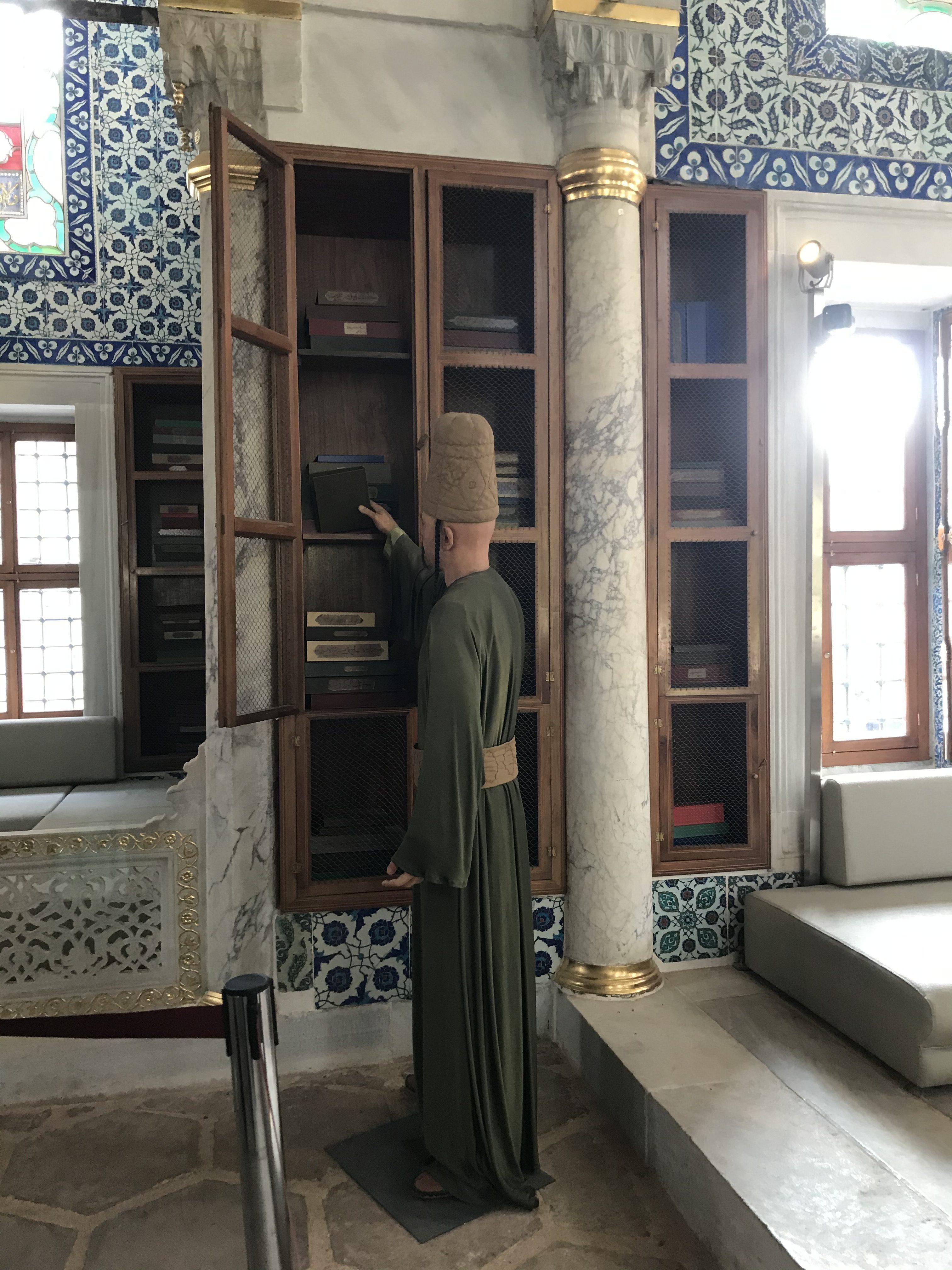 3. Ahmet Kütüphanesi Kitaplık - Topkapı Sarayı