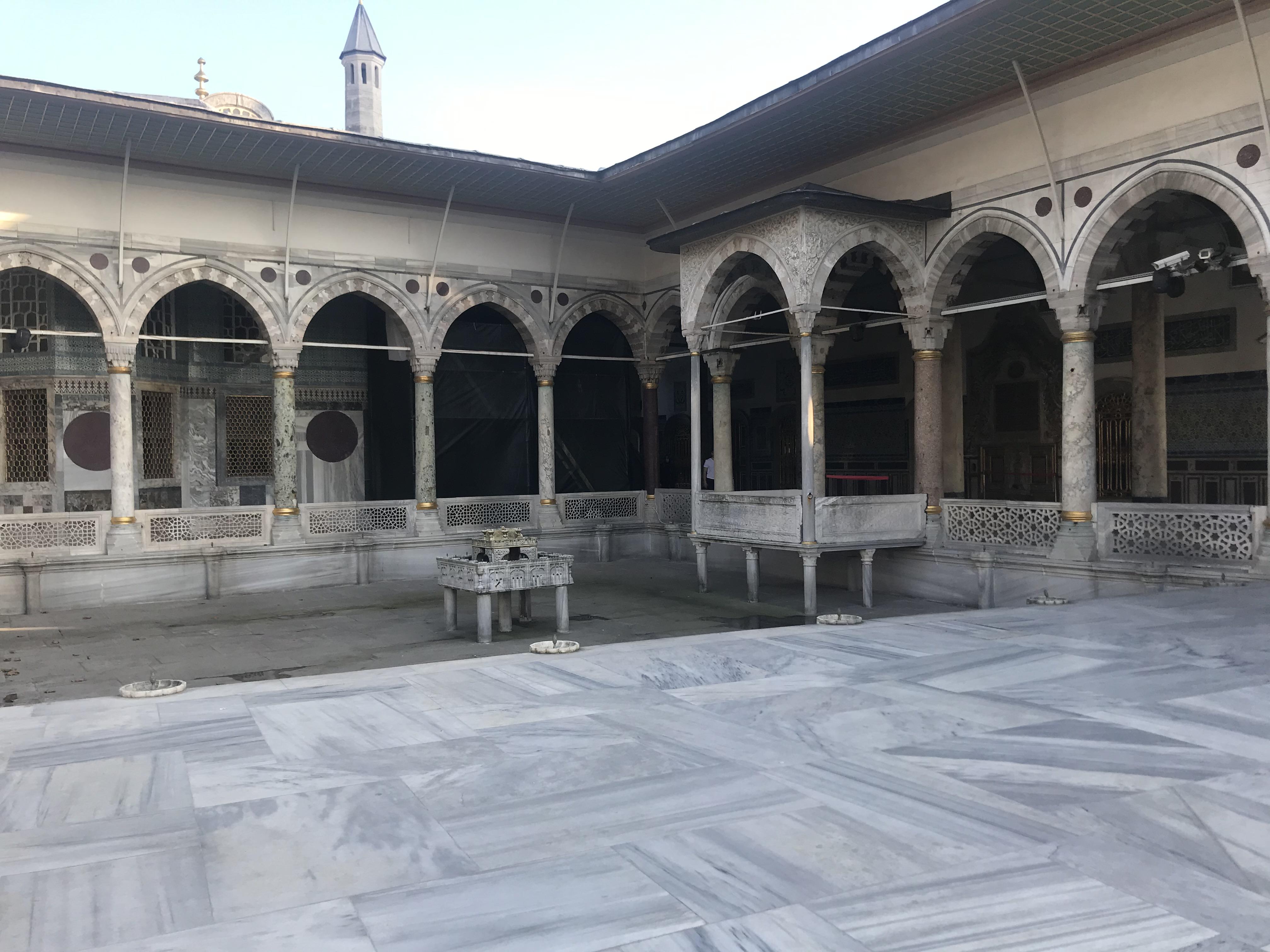 Havuz - Topkapı Sarayı