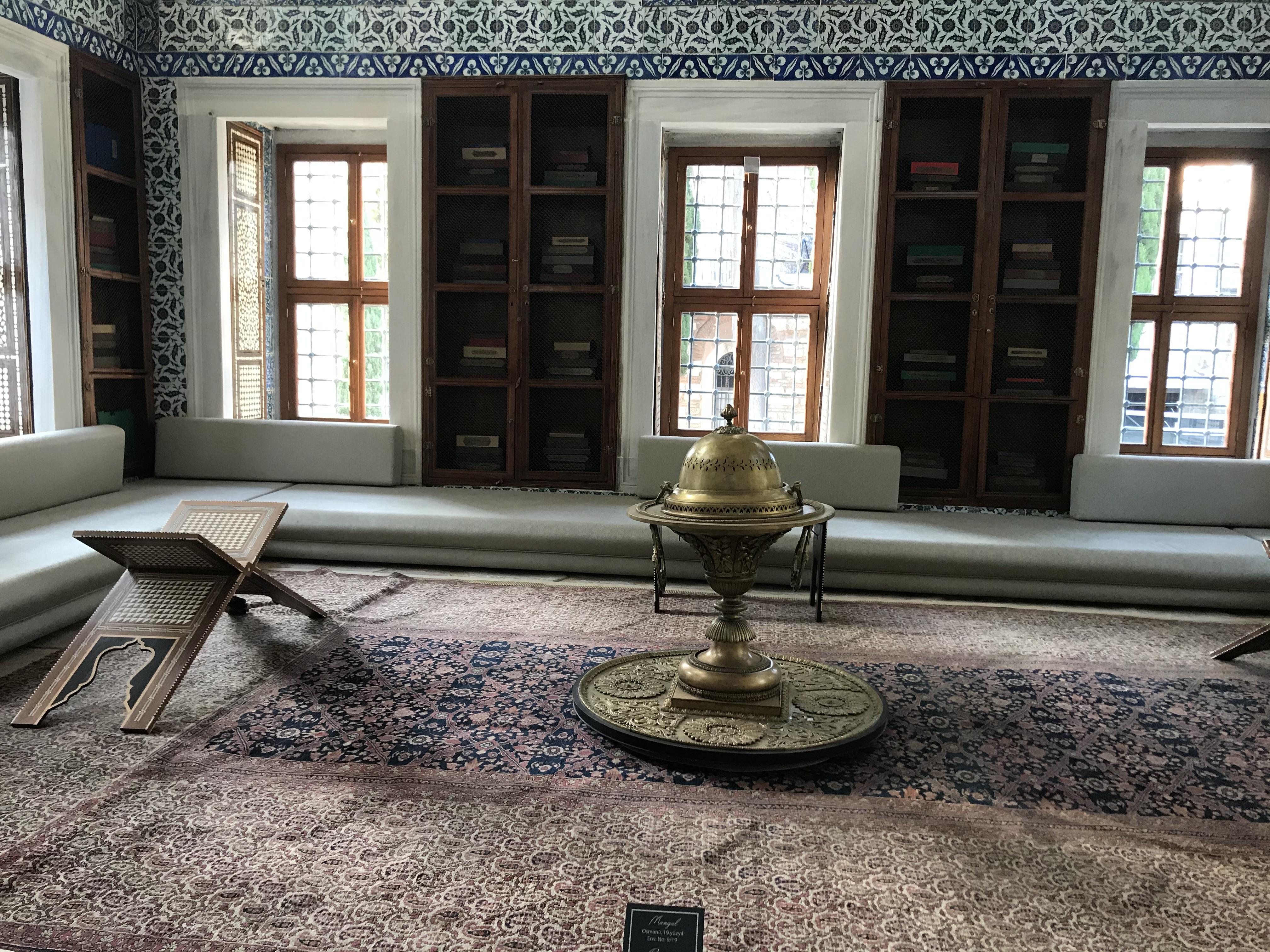 III. Ahmet Kütüphanesi - Topkapı Sarayı