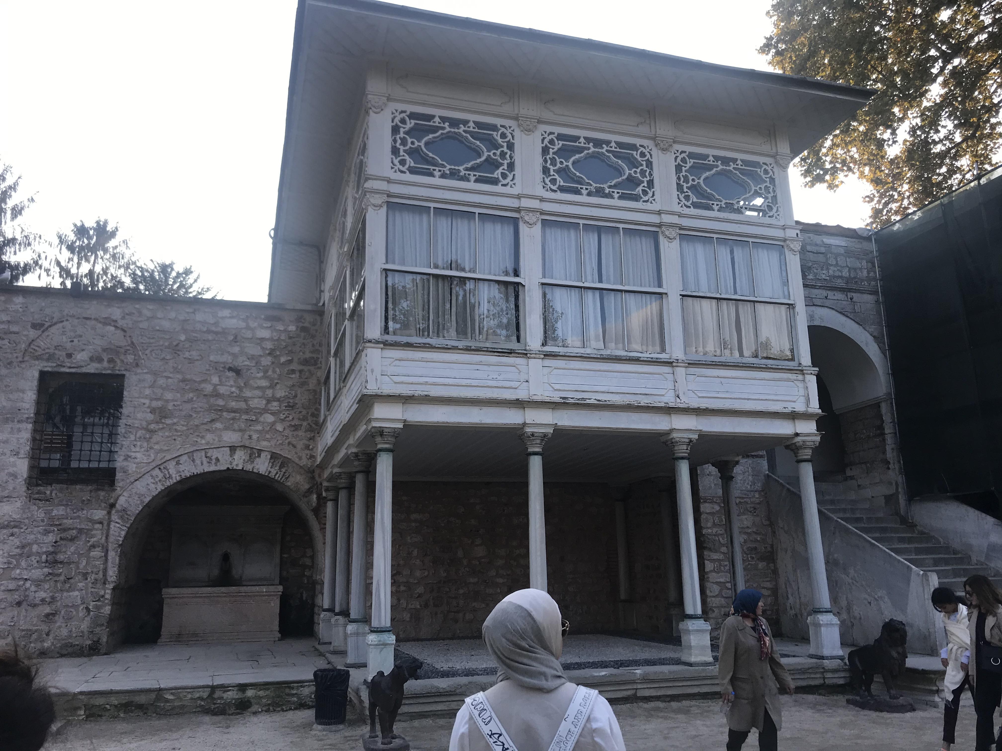 Sofa Köşkü Sütun - Topkapı Sarayı
