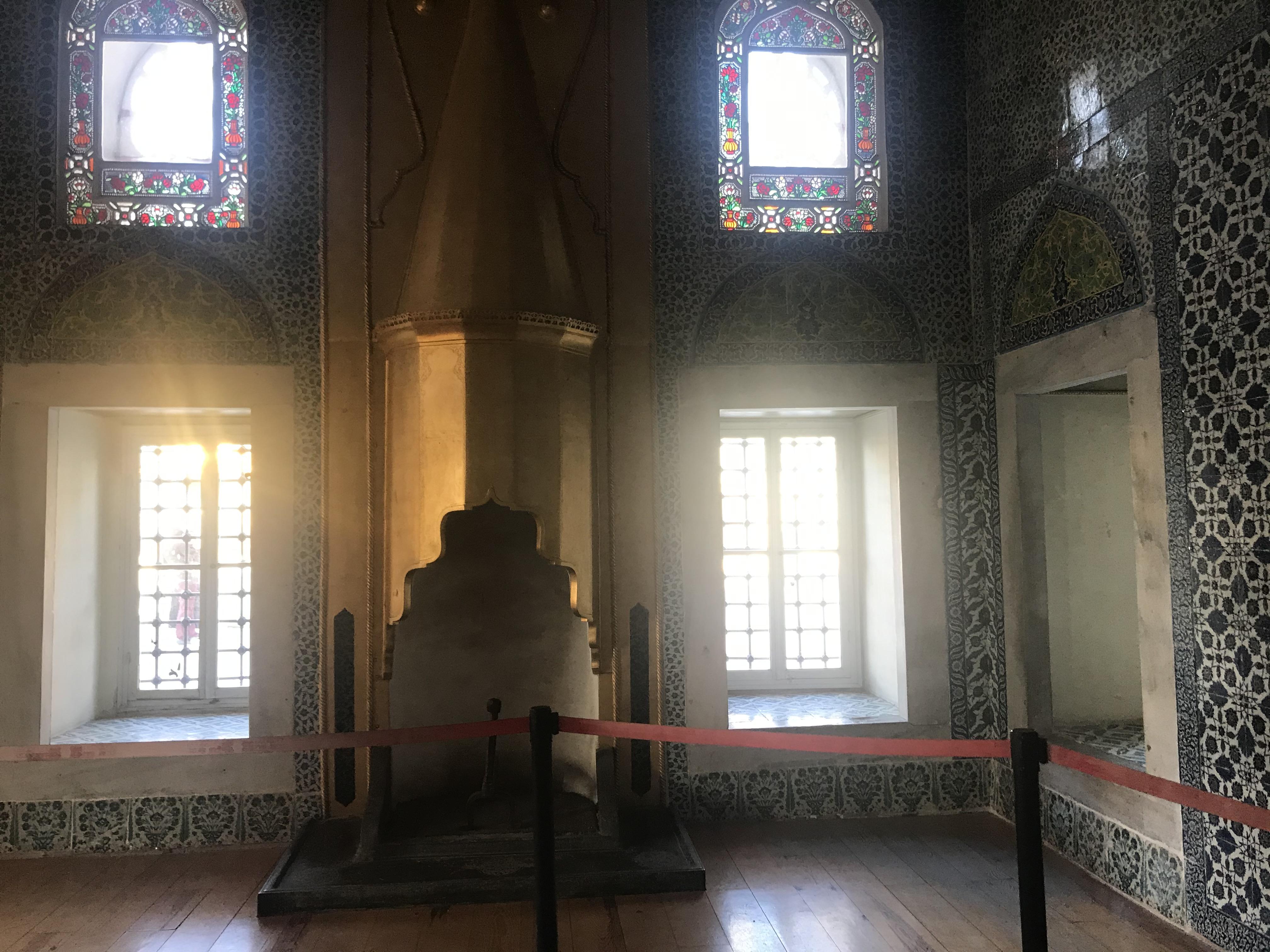 Sünnet Odası Şömine - Topkapı Sarayı